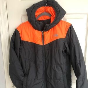 The North Face Boy's Reversible Coat 14/16 Youth